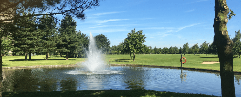 Brett Vale Golf Club and Wedding Venue - Water feature