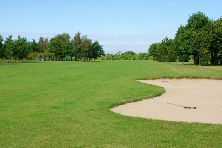 Course Hole 1, Brett Vale Golf course Suffolk