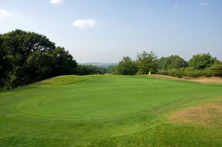 Course Hole 10, Brett Vale Golf course Suffolk