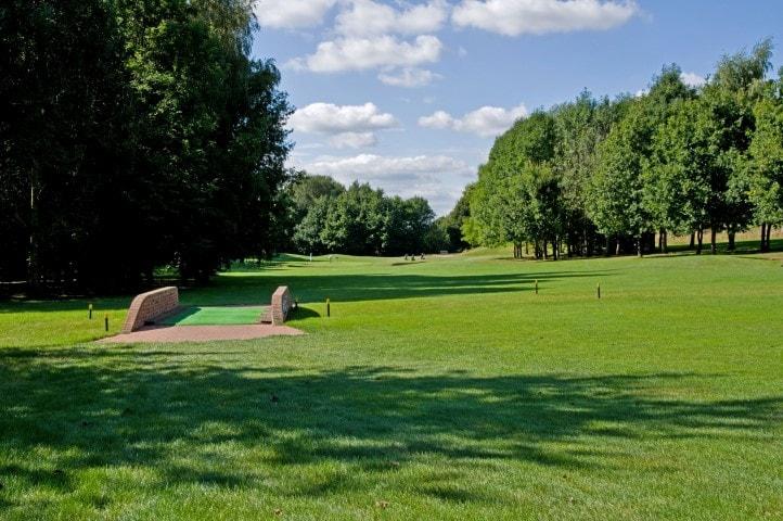 Course Hole 11, Brett Vale Golf course Suffolk