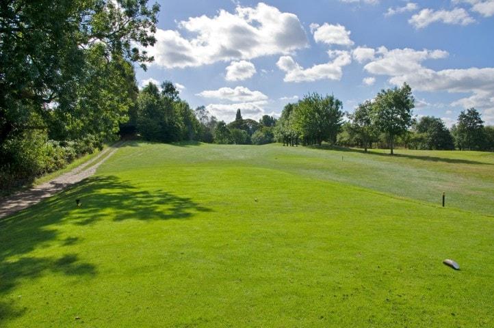 Course Hole 12, Brett Vale Golf course Suffolk