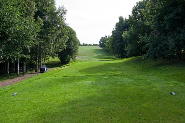 Course Hole 13, Brett Vale Golf course Suffolk