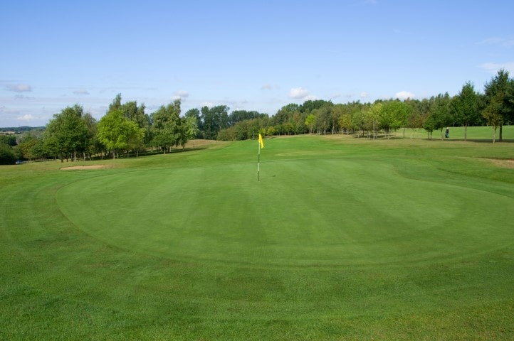 Course Hole 13, Brett Vale Golf course Suffolk