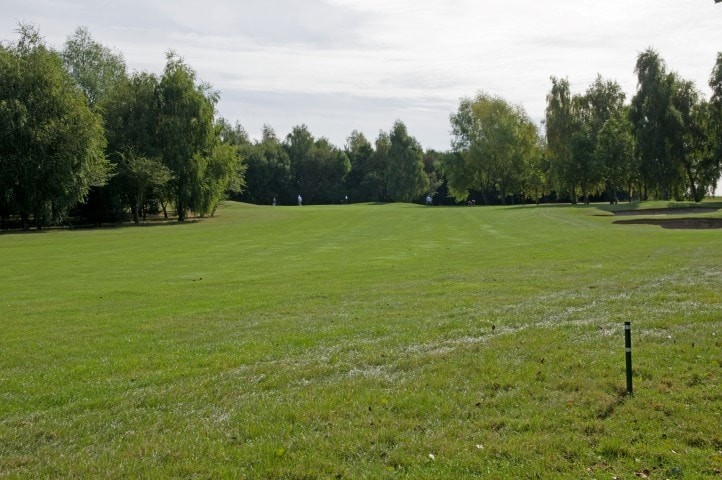 Course Hole 14, Brett Vale Golf course Suffolk