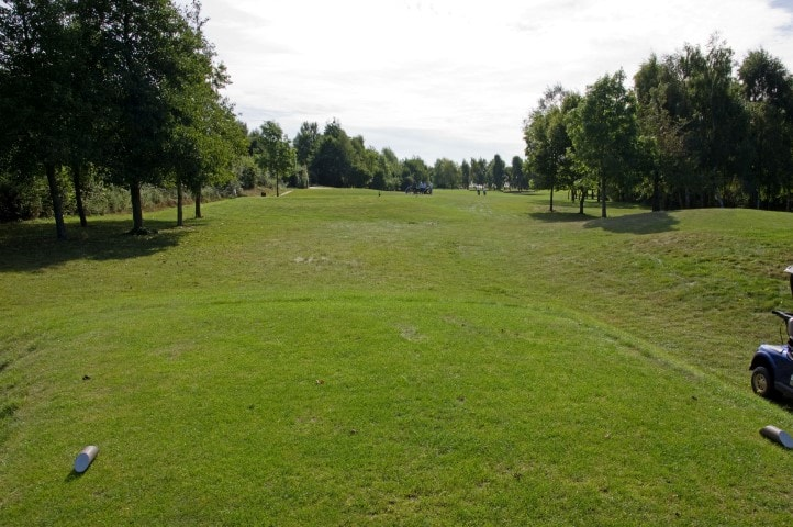 Course Hole 14, Brett Vale Golf course Suffolk