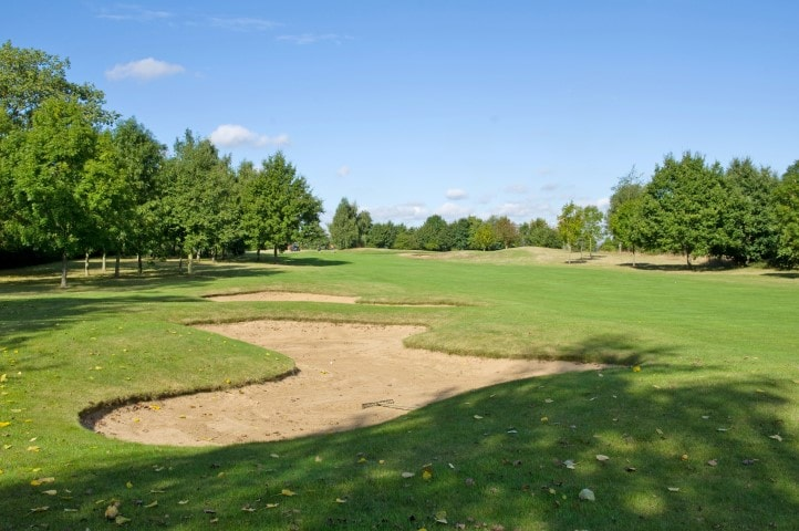 Course Hole 15, Brett Vale Golf course Suffolk