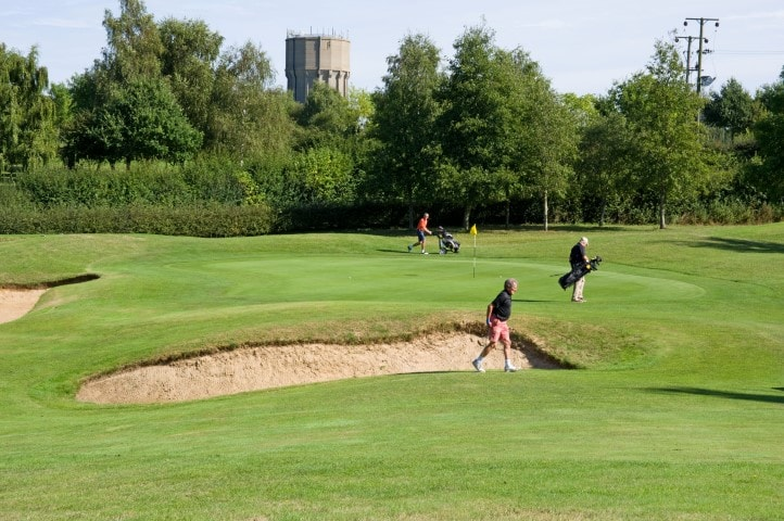 Course Hole 16, Brett Vale Golf course Suffolk