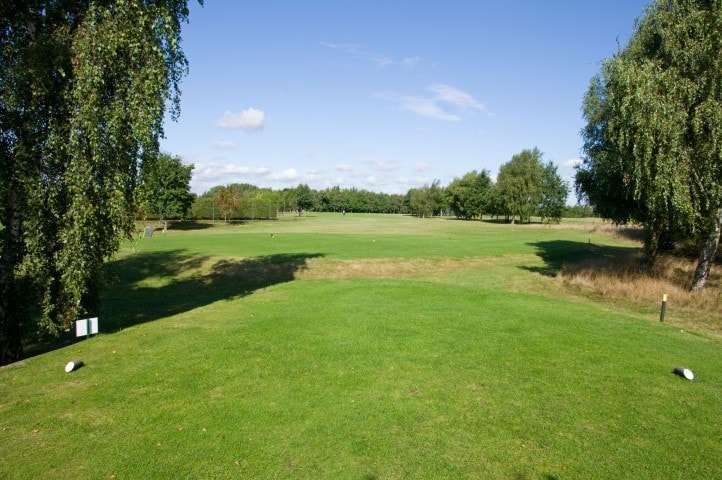 Course Hole 17, Brett Vale Golf course Suffolk