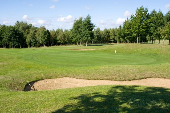 Course Hole 17, Brett Vale Golf course Suffolk