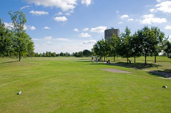 Course Hole 18, Brett Vale Golf course Suffolk