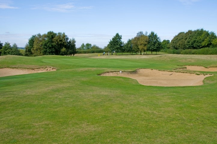 Course Hole 2, Brett Vale Golf course Suffolk