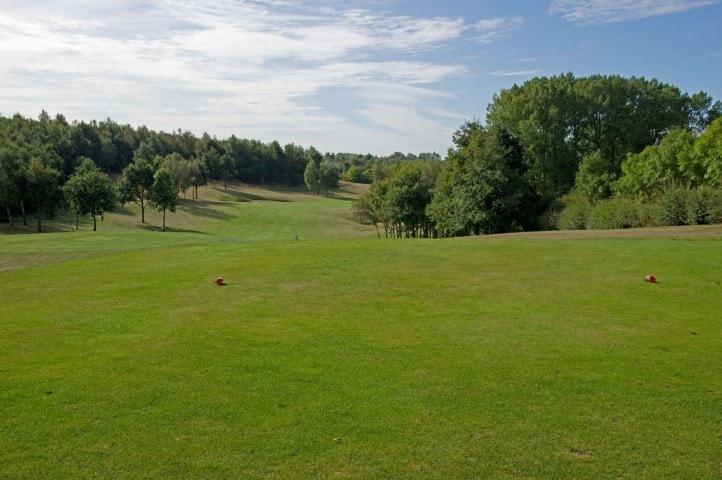 Course Hole 3, Brett Vale Golf course Suffolk