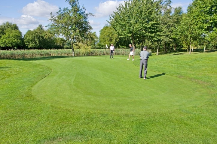 Course Hole 4, Brett Vale Golf course Suffolk