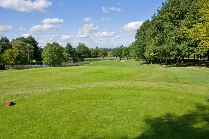 Course Hole 4, Brett Vale Golf course Suffolk