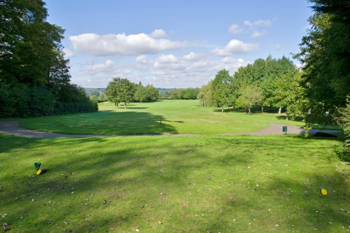 Course Hole 5, Brett Vale Golf course Suffolk