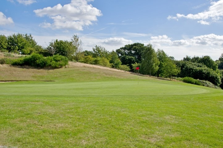 Course Hole 6, Brett Vale Golf course Suffolk