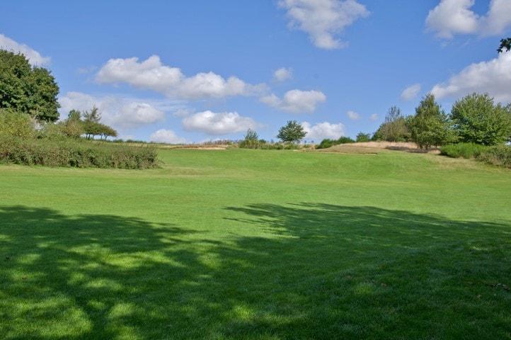 Course Hole 6, Brett Vale Golf course Suffolk