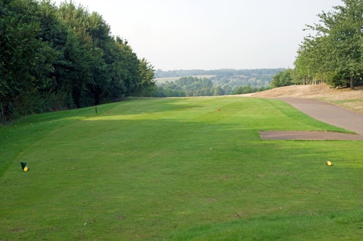 Course Hole 7, Brett Vale Golf course Suffolk
