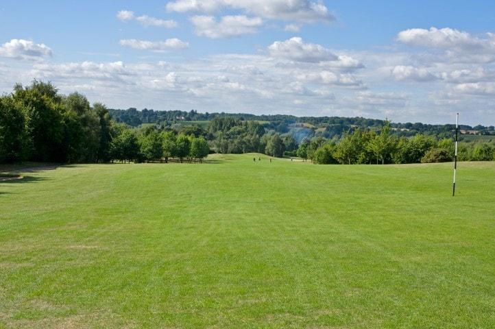Course Hole 7, Brett Vale Golf course Suffolk