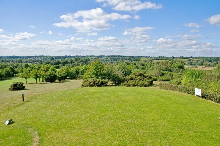 Course Hole 9, Brett Vale Golf course Suffolk