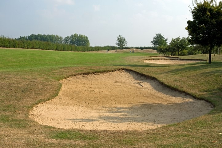 Course Hole 9, Brett Vale Golf course Suffolk